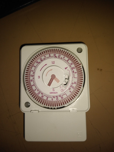 reloj temporizador horario semanal grasslin 220v