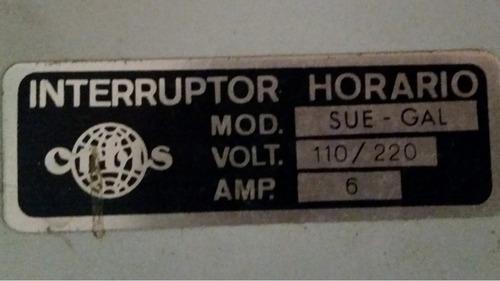 reloj temporizador interruptor horario .35.$