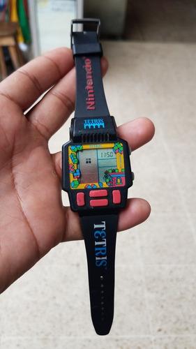 reloj tetris nintendo