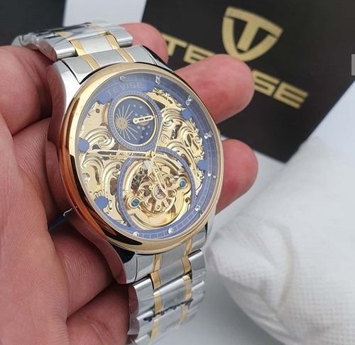 reloj tevise t820a hombre automatico