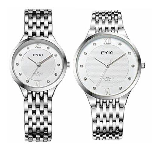 Blanco Tidoo 7 Y Reloj Mujer 11 30e Hombre Para Tablero Ib6yg7Yfv