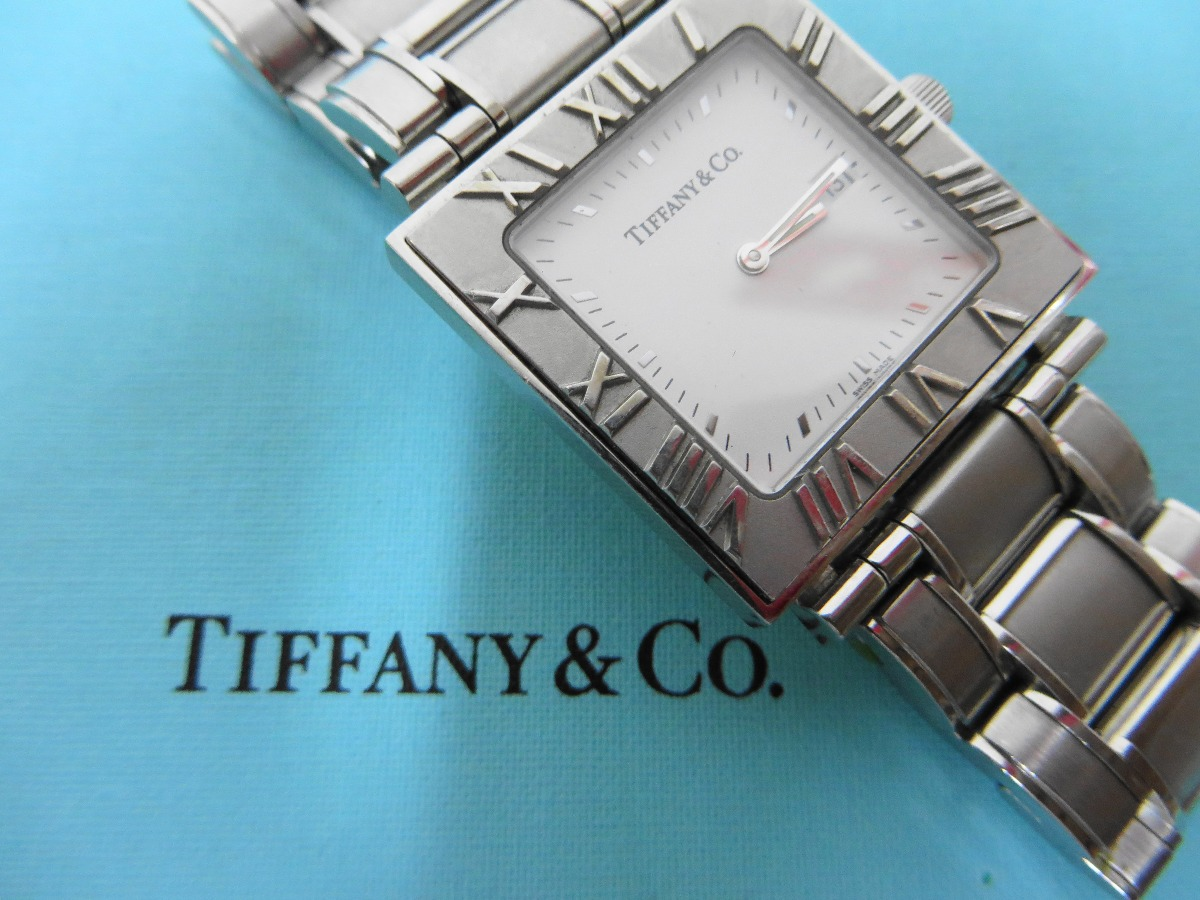 Como Se Escribe 91 En Numeros Romanos reloj tiffany & co. atlas & cuadrada números romanos. - $ 14,999.00