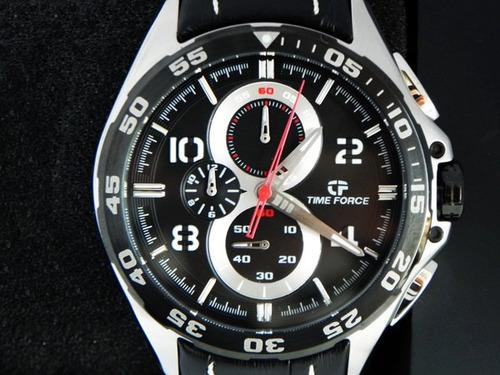 reloj time force deportivo edición trax carrera, nuevo