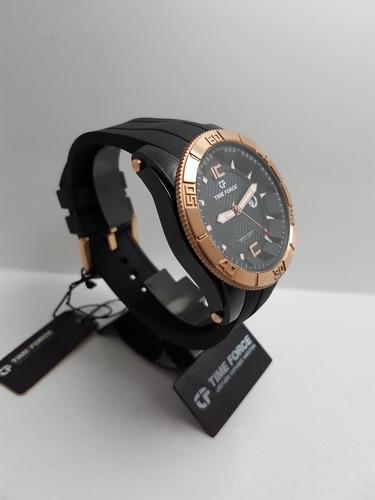 reloj time force megaforce a5017mnr-01 original hombre