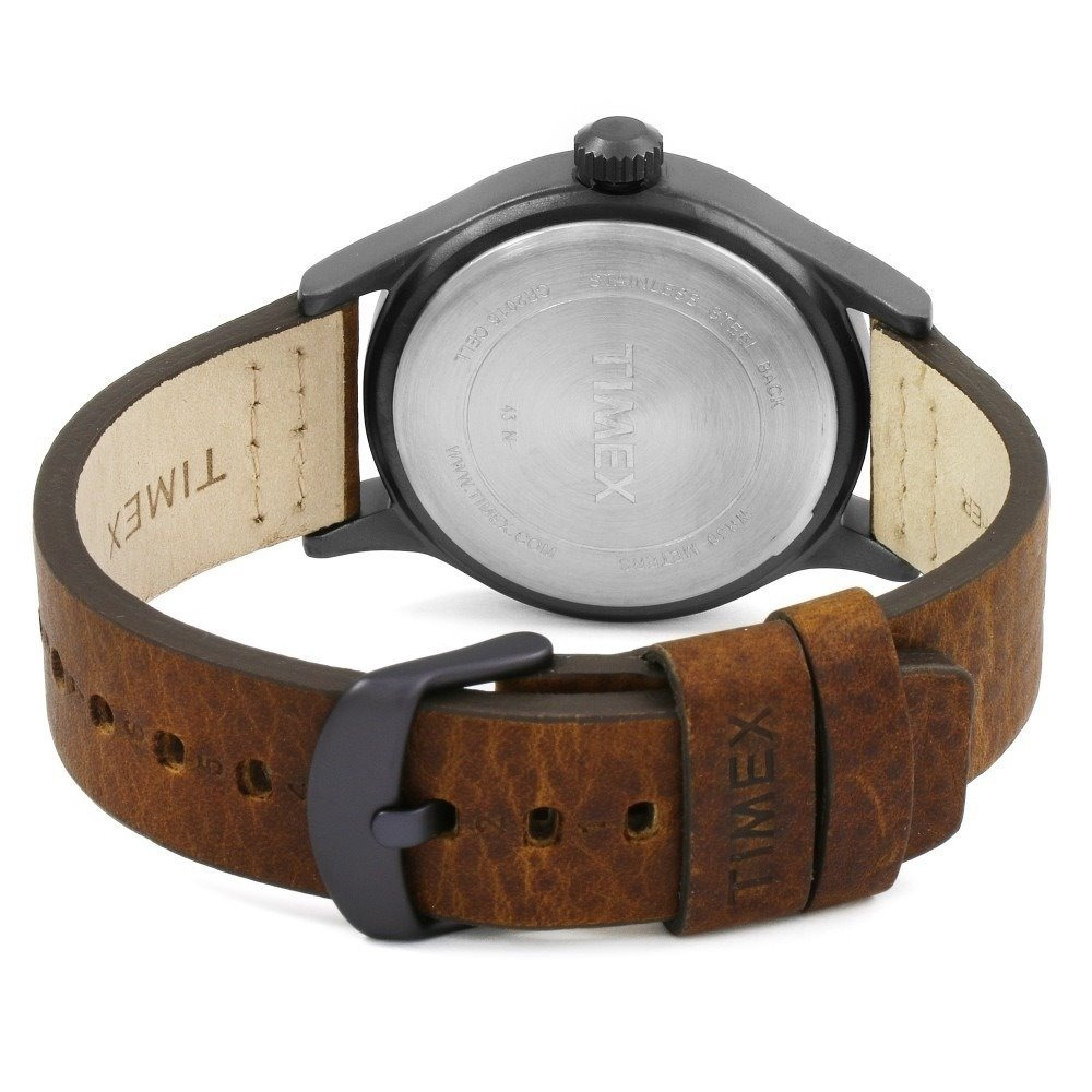 531ebfb9a380 reloj timex allied tw2r46400 piel genuina cafe caballero. Cargando zoom.