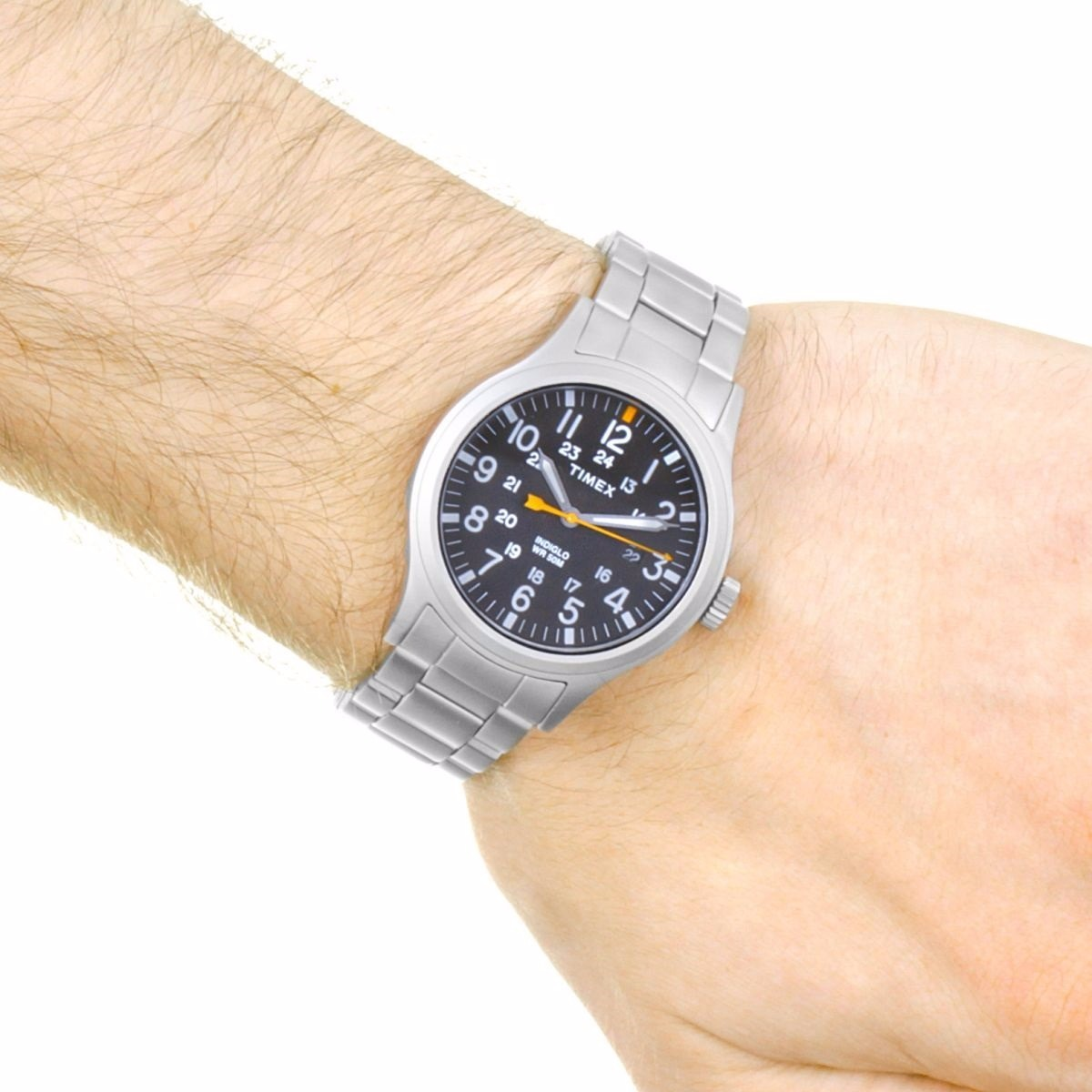 f8166d3d52a2 reloj timex allied tw2r46600 caballero plateado luz original. Cargando zoom.
