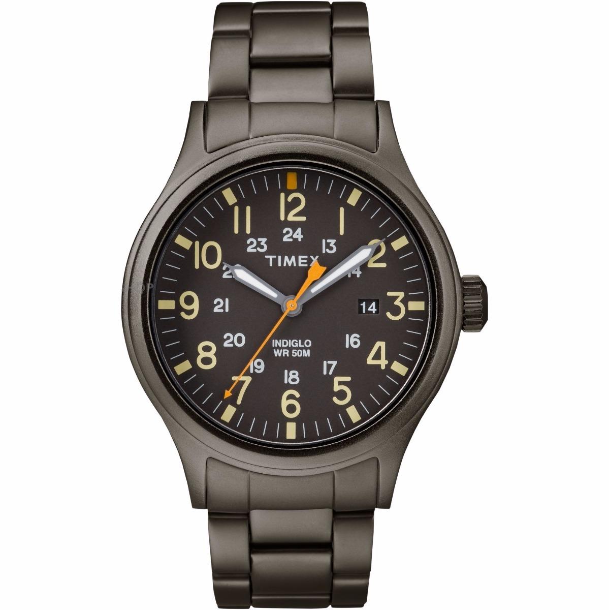 add248b7dfc1 reloj timex allied tw2r46800 d caballero acero gris original. Cargando zoom.