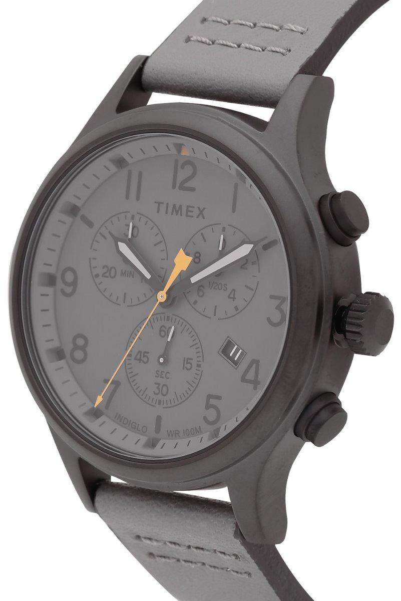 45190eb8be6f reloj timex allied tw2r47400 piel genuina gris caballero. Cargando zoom.