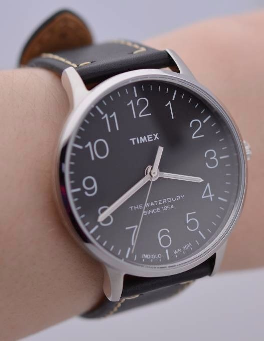 5de9127abf82 Reloj Timex De Caballero Piel Y Dial Color Negro Tw2r25500 ...