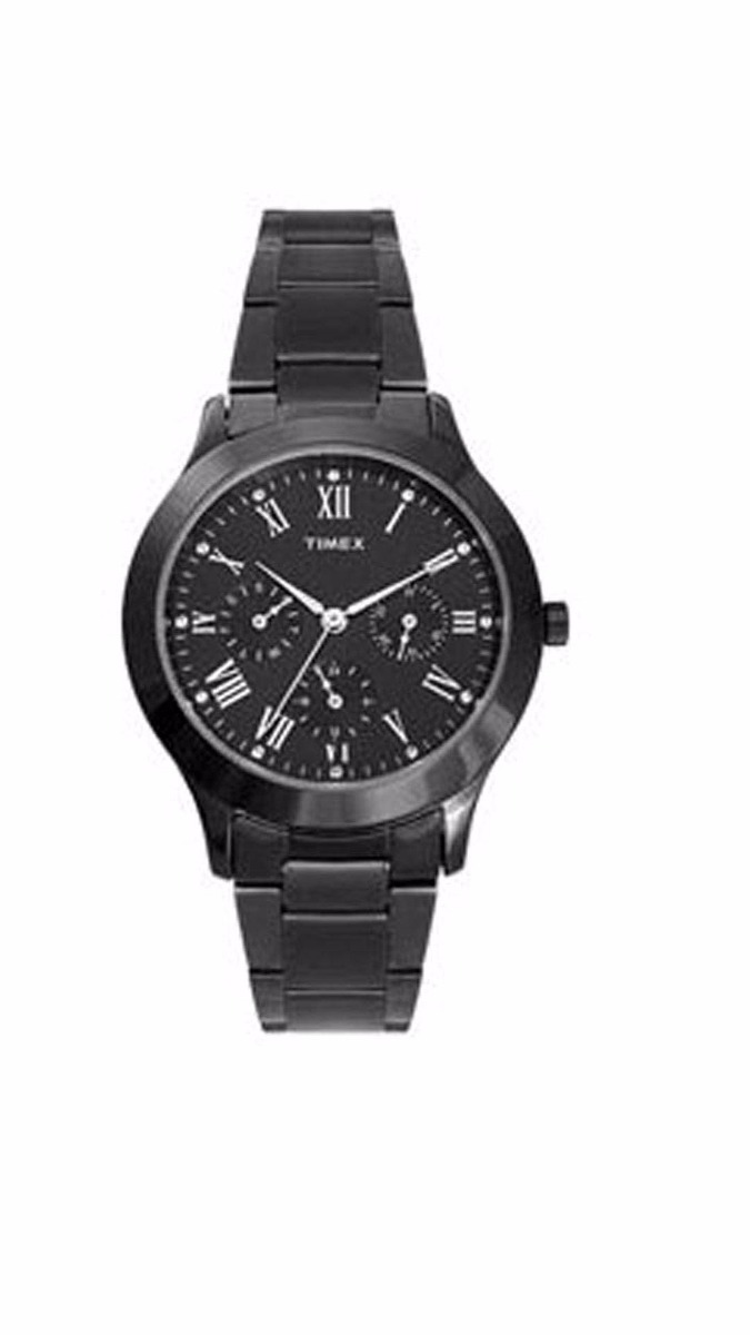 d3bb6fe0ef08 reloj timex de dama negro para dama mod  tw0q809m7 original. Cargando zoom.