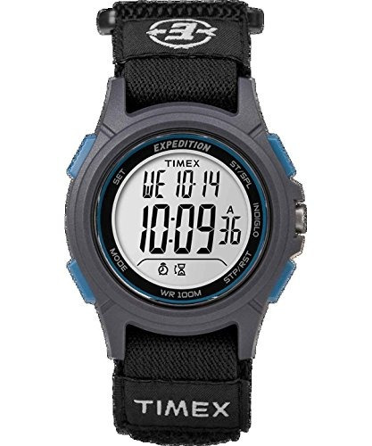 reloj timex - expedición básico gato negro - tw4b10100jv