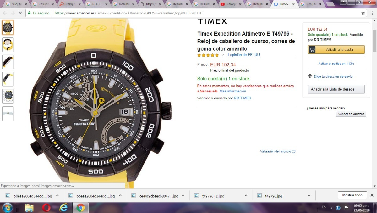 17e8de23b392 reloj timex expedition altimetro. Cargando zoom.