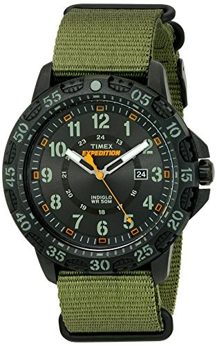 b25e74b74444 Reloj Timex Expedition Luz Indiglo Análogo