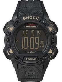 Reloj Timex Expedition Shock Cat, Negro
