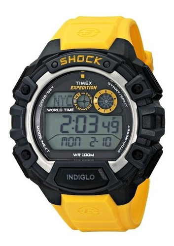 reloj timex expedition shock t49974 unisex | agente oficial