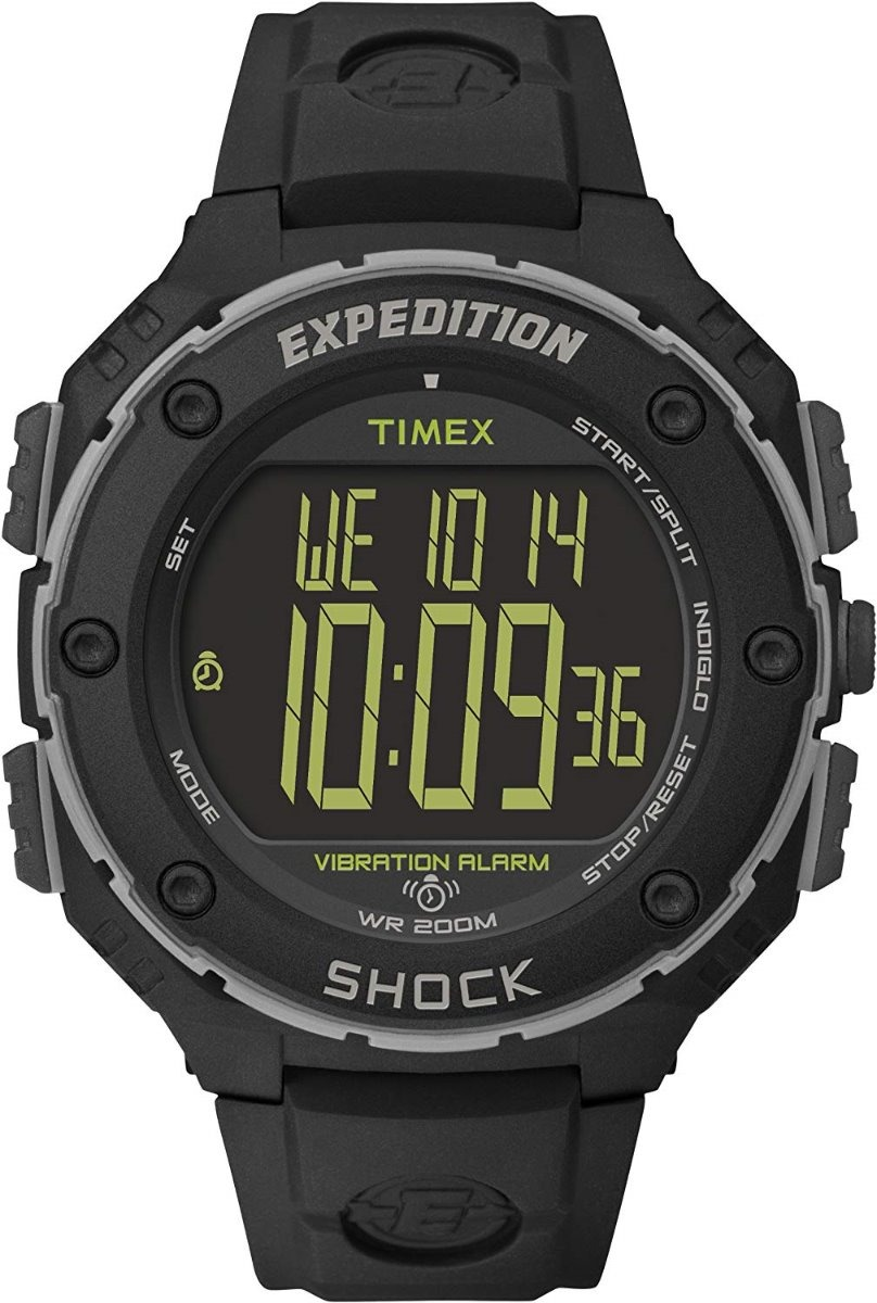 382a4a55e8f7 reloj timex expedition shock xl t49950 digital negro hombre. Cargando zoom.