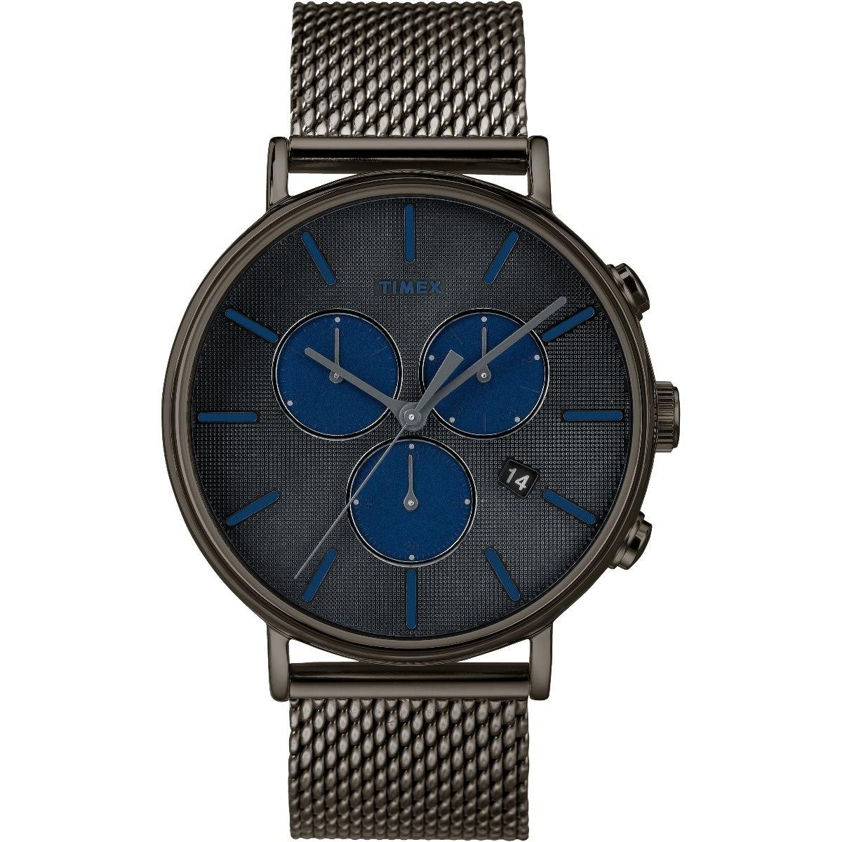 be86a1a4c052 reloj timex fairfield supernova tw2r98000 negro crono hombre. Cargando zoom.