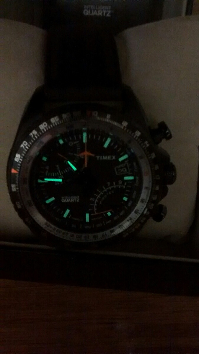 70eb01fd73a4 reloj timex fly back aviator intelligent quartz indiglo. Cargando zoom.