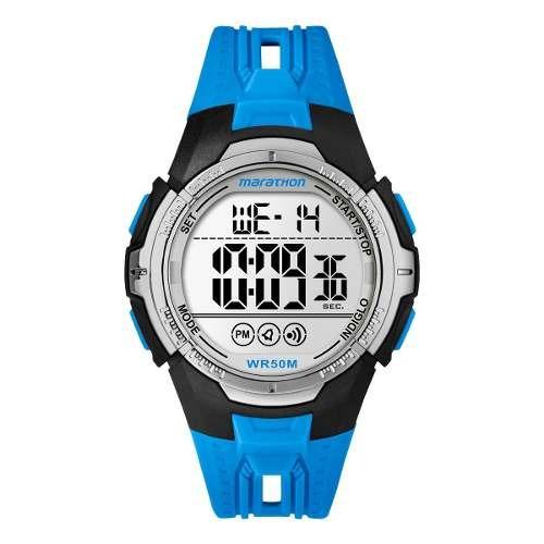 reloj timex hombre azul tw5m06900