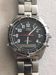 1322695beca0 Reloj Timex Extensible Acero Indiglow - Relojes en Mercado Libre México