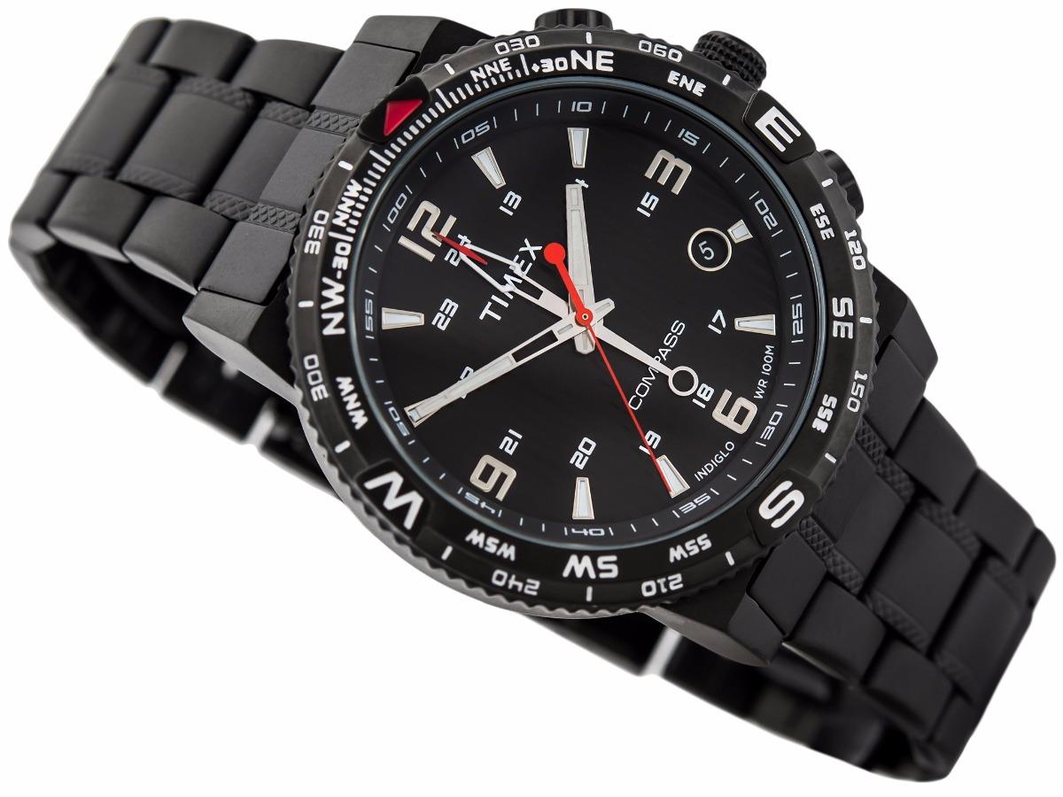 6176488cdb95 reloj timex intelligent t2p288 hombre negro acero inoxidable. Cargando zoom.
