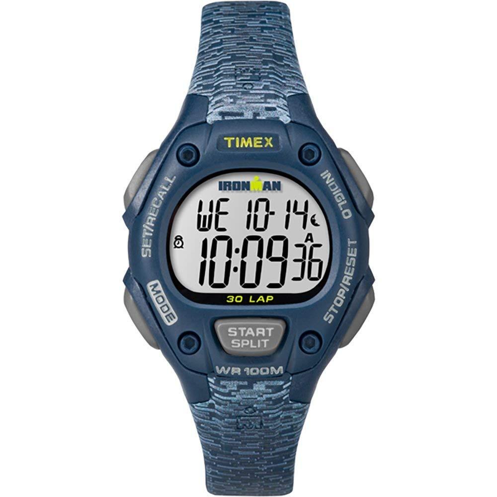 7762a6315ea7 reloj timex ironman classic 30 de tamaño medio azul gris. Cargando zoom.