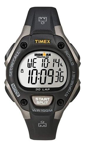 reloj timex ironman classic 30 indiglo