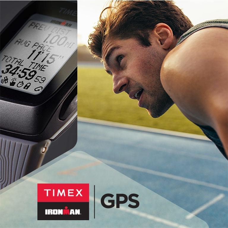 3d59e8651e18 Reloj Timex Ironman Gps Español Run-ciclismo-natacion Blanco ...
