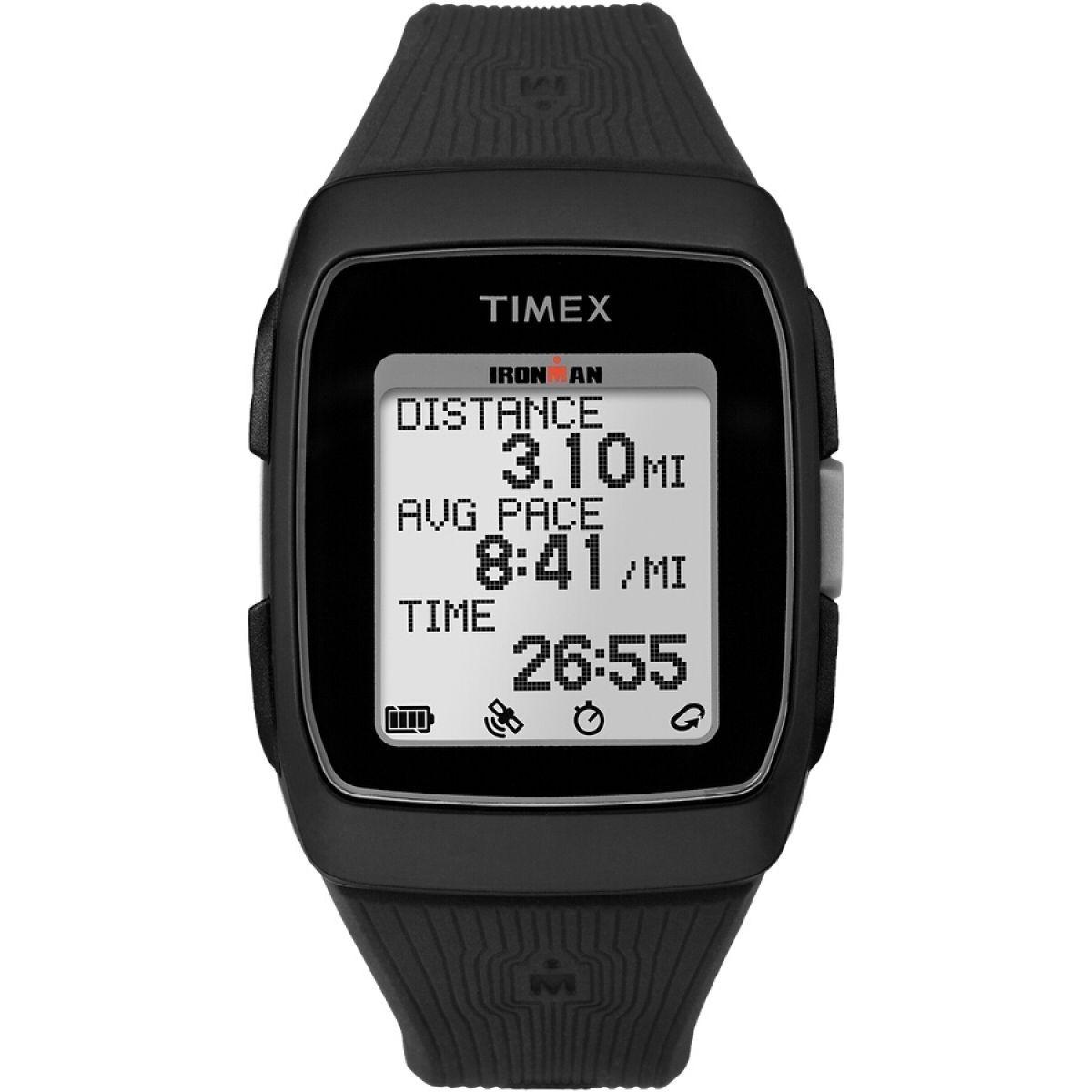 ec9ec8d50e01 reloj timex ironman gps tw5m11700 gris negro para caballero. Cargando zoom.