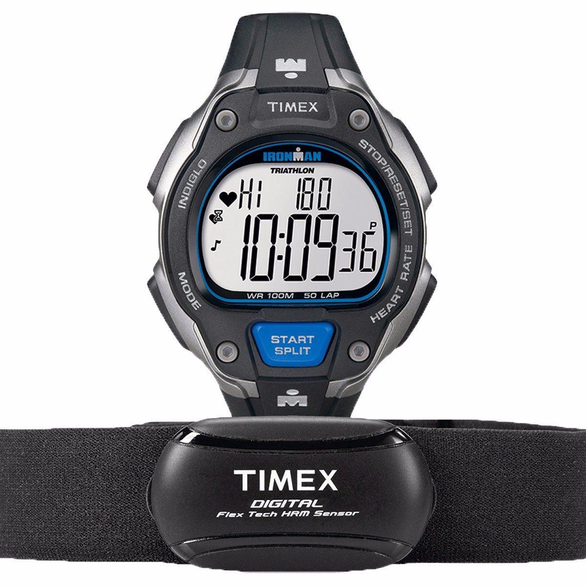 5f368f3f4ca0 reloj timex ironman road trainer heart rate t5k718 hombre. Cargando zoom.