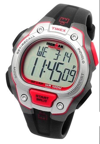 reloj timex ironman t5k689 50 laps intervalos