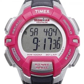 c1e3f7232e72 Reloj Timex Ironman Triathlon 100m 30lap Envío Gratis T5k811
