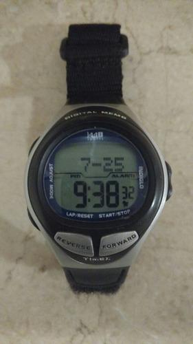 reloj timex l440 sport indiglo digital memo
