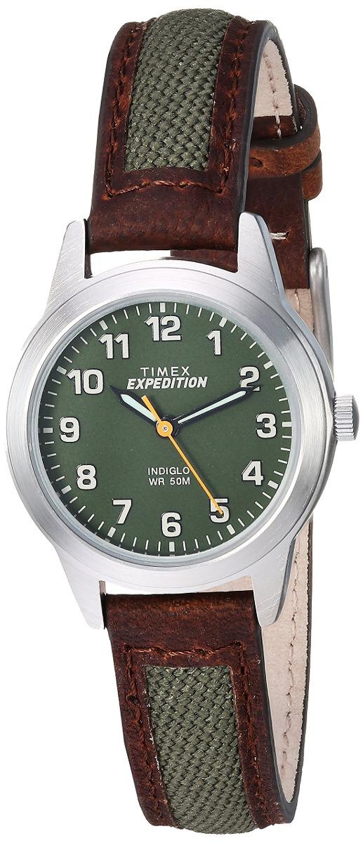 fdf078ddd021 Reloj Timex Marrón verde