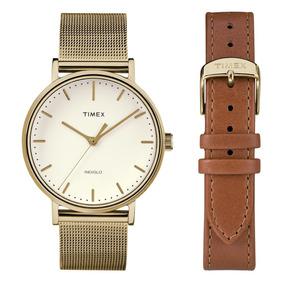 0b4b04fba5fd Reloj Timex Mujer Cafe - Relojes en Mercado Libre México