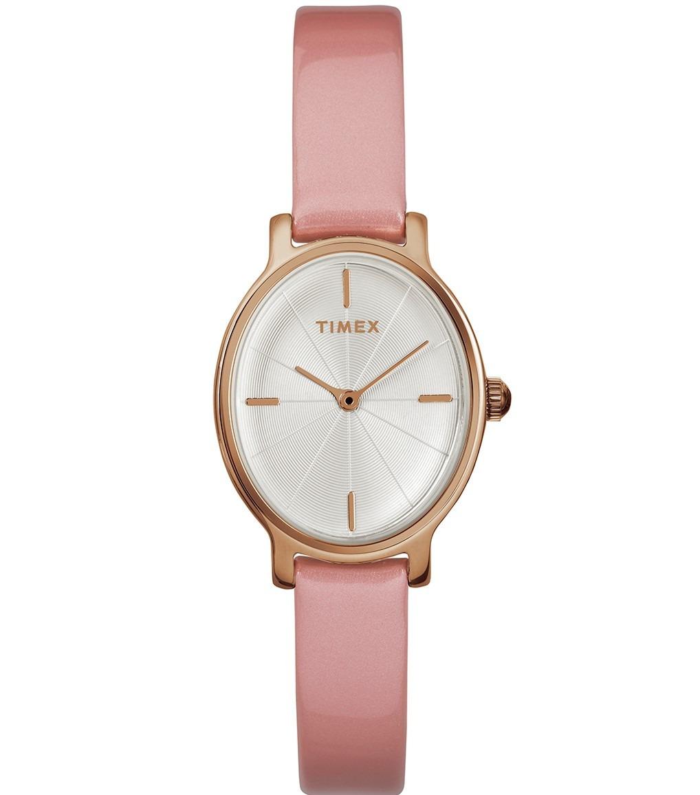 a7c2098ae8c3 reloj timex milano tw2r94600 piel rosa acero oro rosa dama. Cargando zoom.