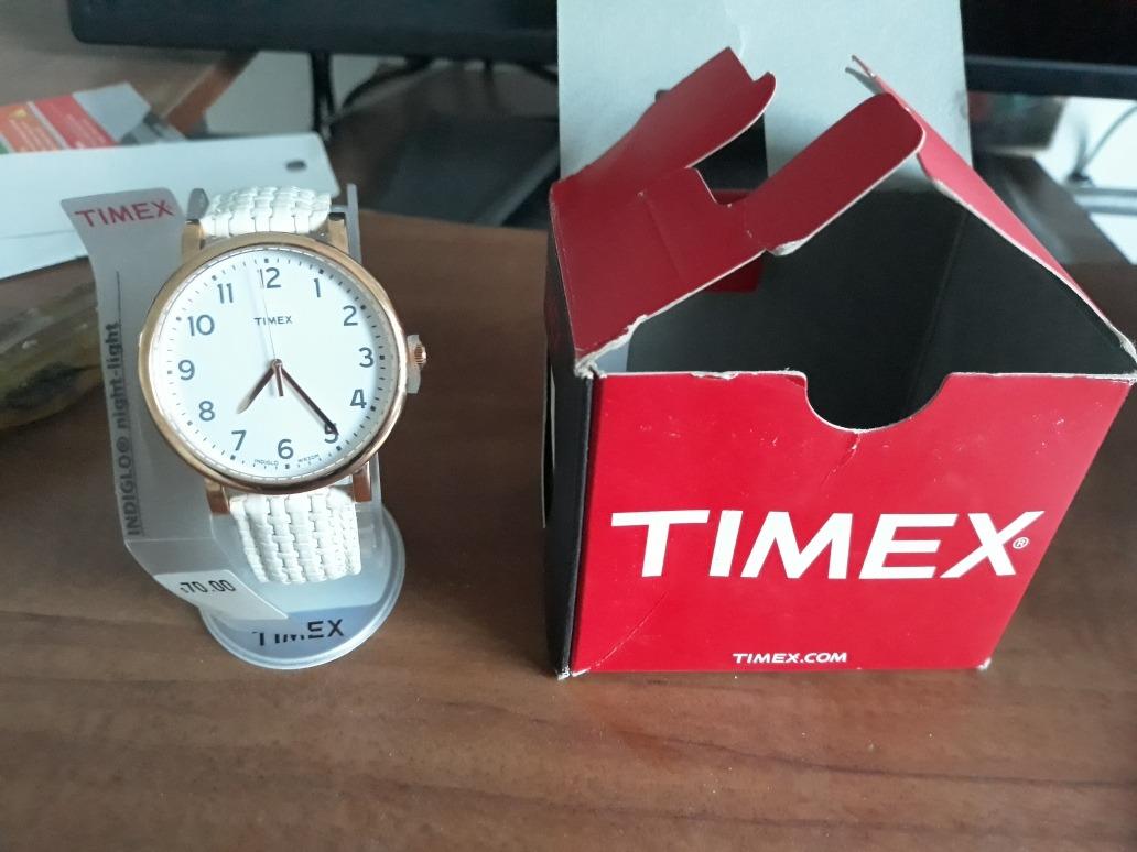 4d92e1c50a80 Reloj Timex Para Dama Correa De Cuero Luz Indiglo -   529.00 en ...