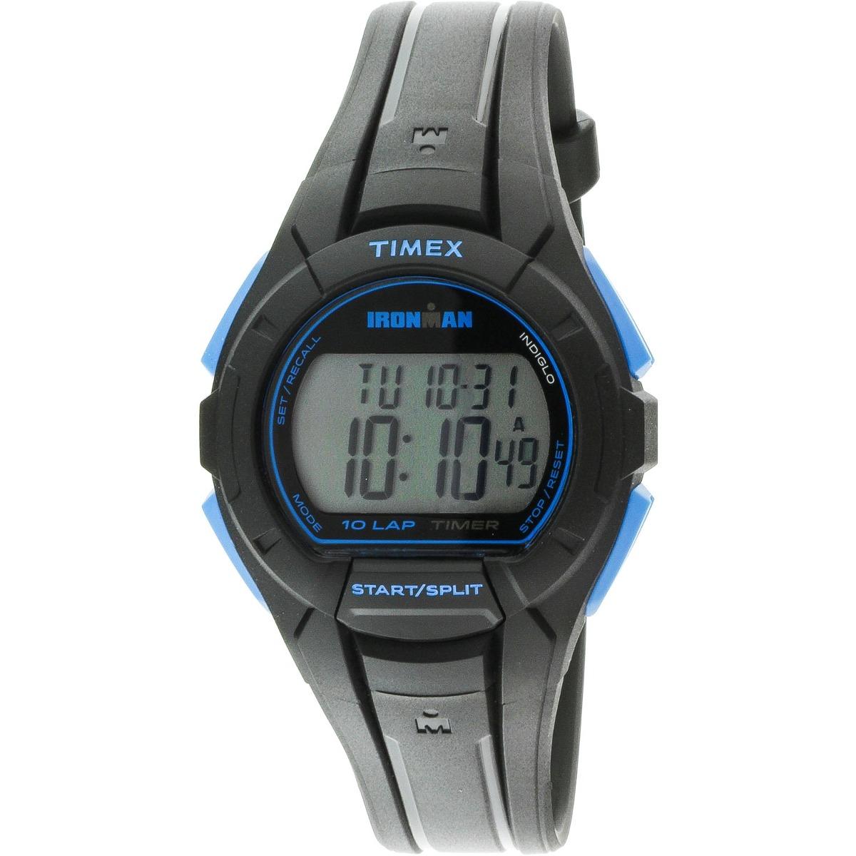 e7821759848a reloj timex para hombre tw5k93900 ironman deportivo negro. Cargando zoom.