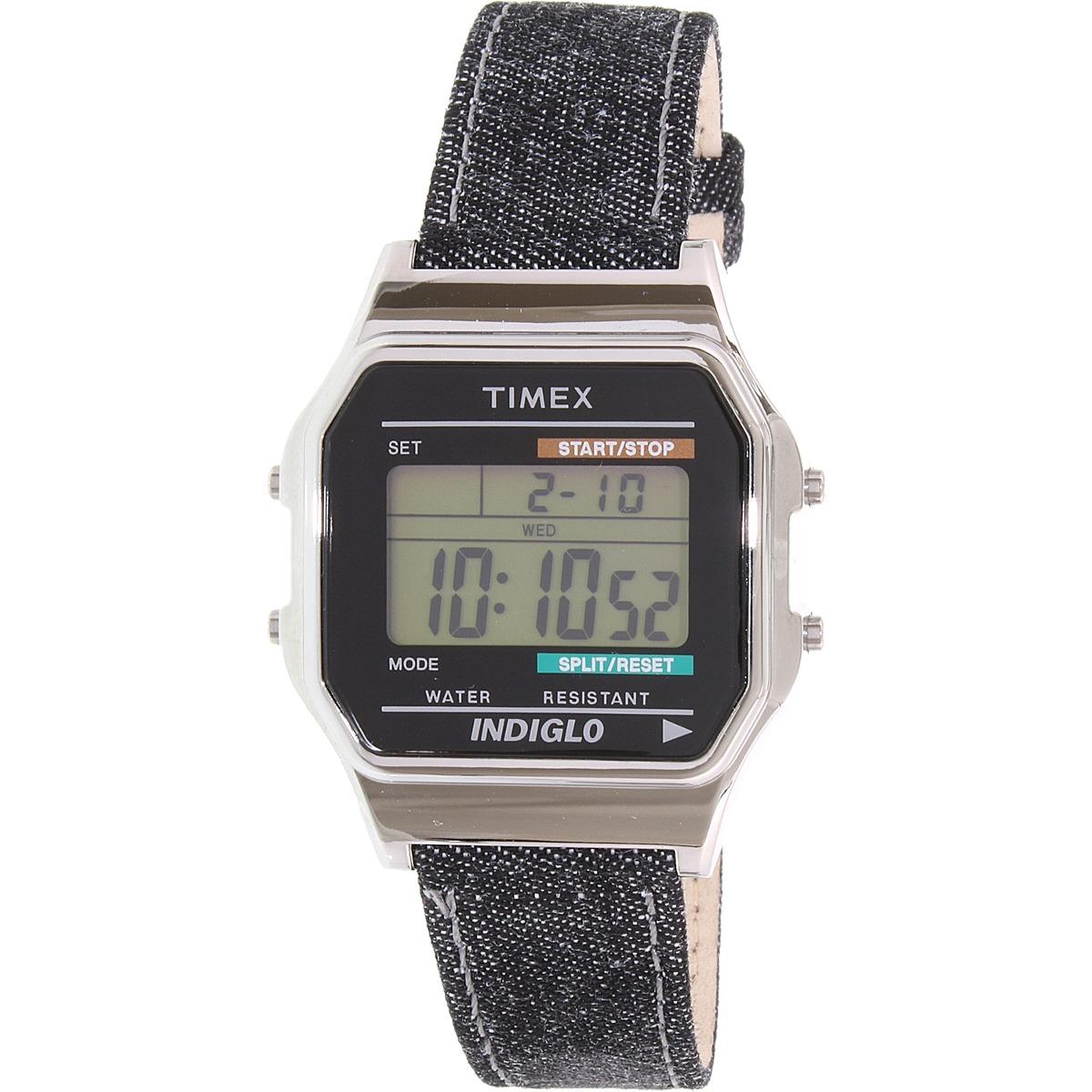 824ba2d9d562 Reloj Timex Para Hombres Tw2p77100 Cuero Azul -   1