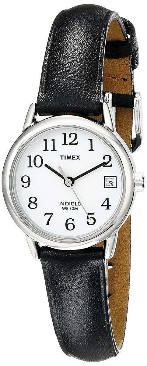 d88a0ca0ecbe Reloj Timex Para Mujer T2h331 Indiglo Tablero Color Blanco ...