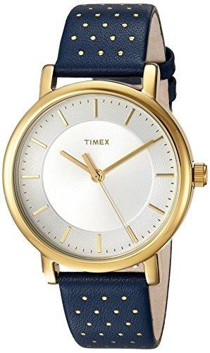 2ca586222e33 Reloj Timex Para Mujer Tw2r27600 Con Correa De Cuero Color ...