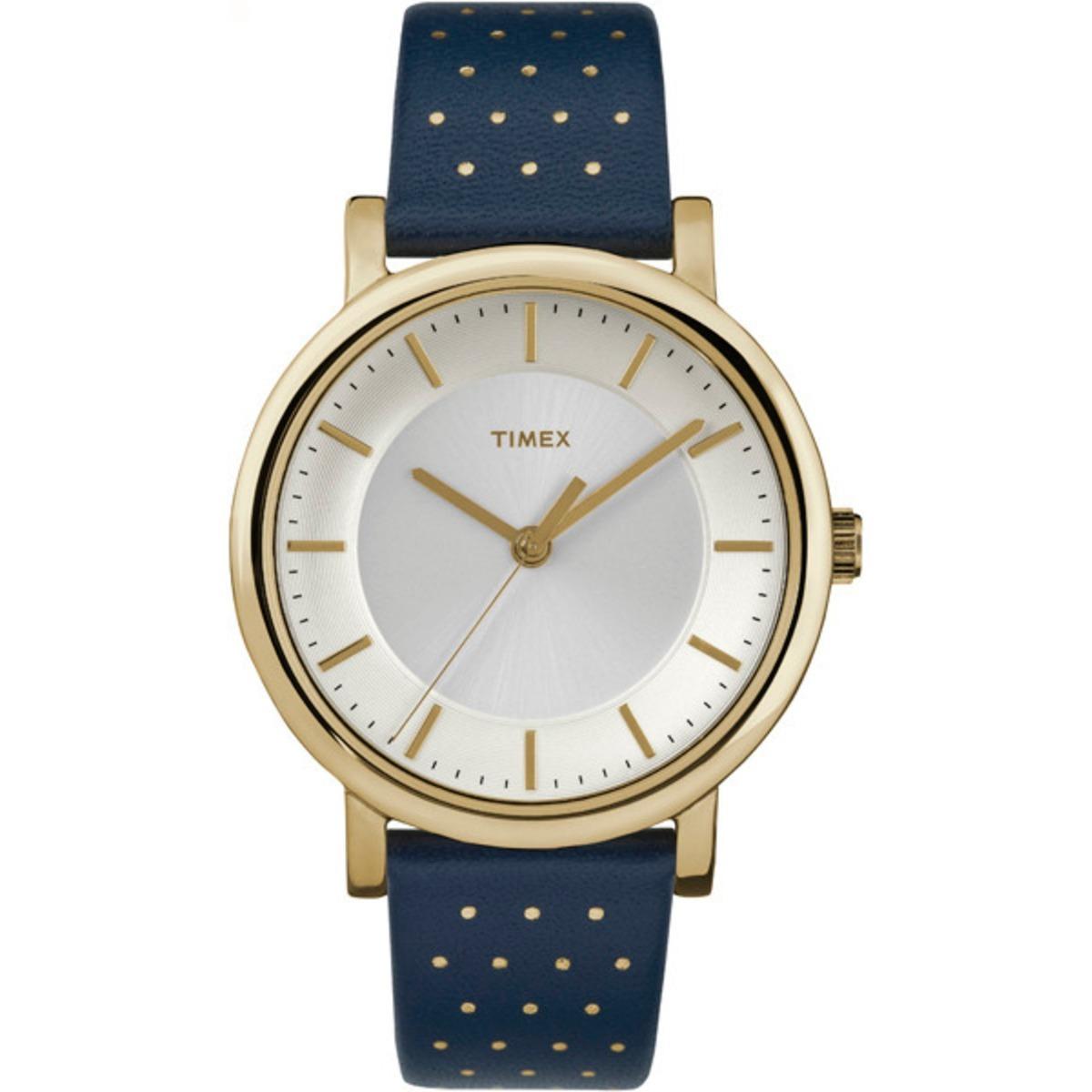 fc41359c6a66 reloj timex para mujer tw2r27600 original azul con correa. Cargando zoom.