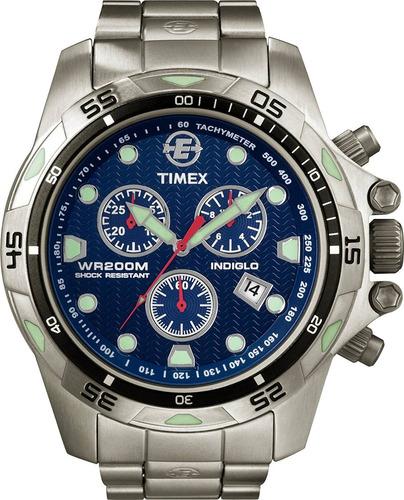 reloj timex t plateado