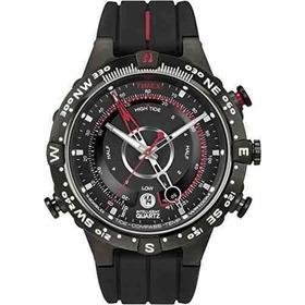 Reloj Timex T2n720 Inteligente Cuarzo Brújula Temperatura