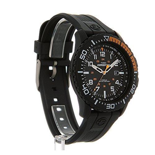 a9deedd66af1 Reloj Timex T49940 Expedition Uplander Negro  naranja Correa ...