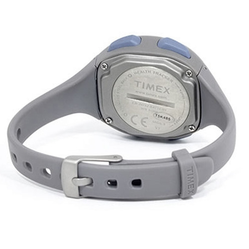 reloj timex t5k485 unisex ironman health tracker grey watch