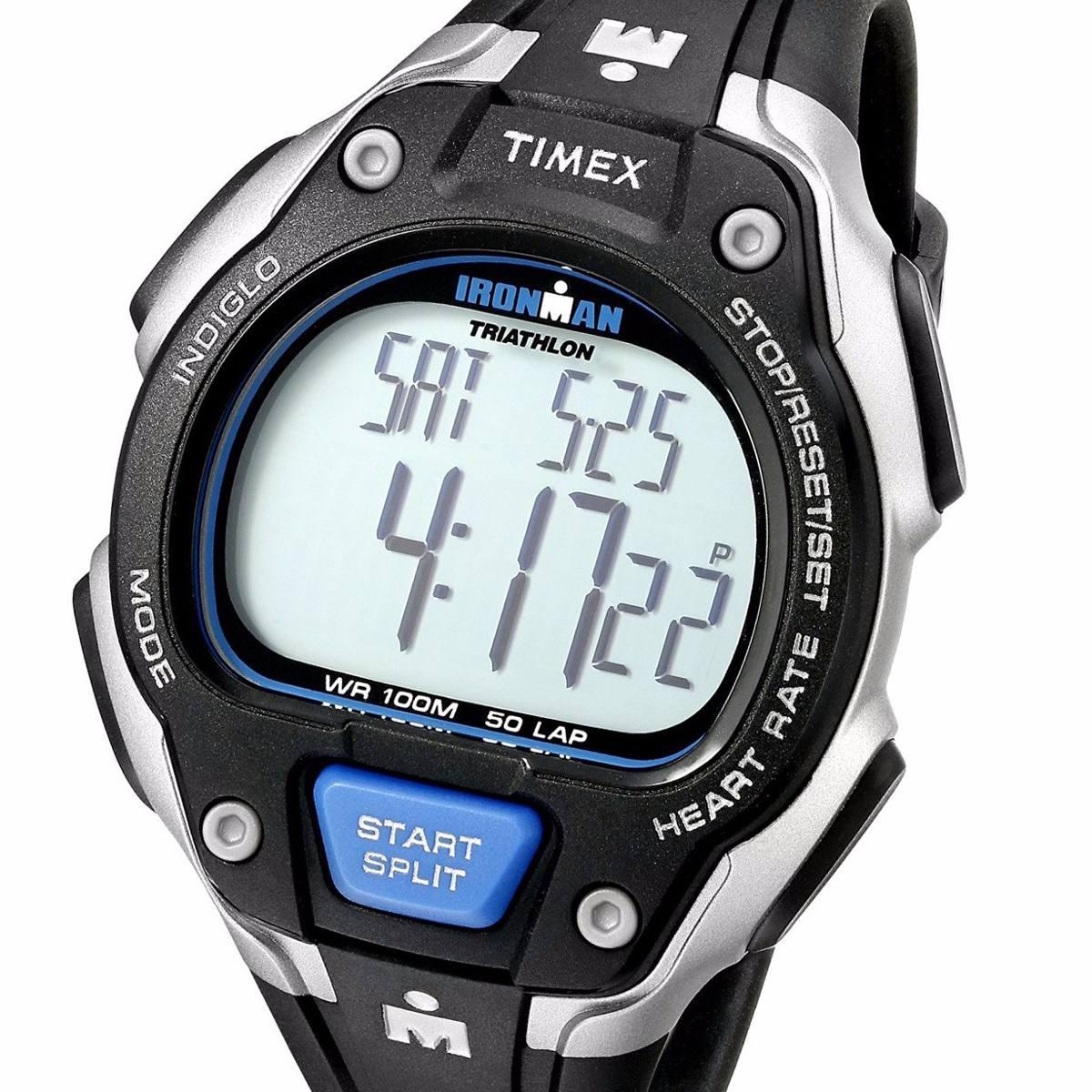 ba866db8b632 reloj timex t5k718 pulsometro iroman trainer cronoo 50 lap. Cargando zoom.