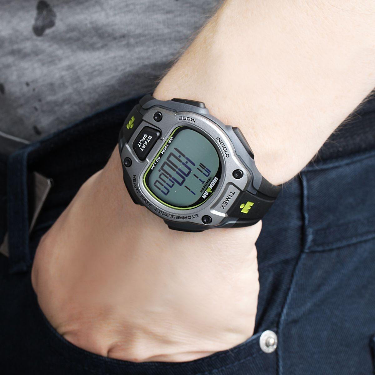 6dc7da5538bc reloj timex t5k719 t5k720 pulsometro iroman trainer calorias. Cargando zoom.
