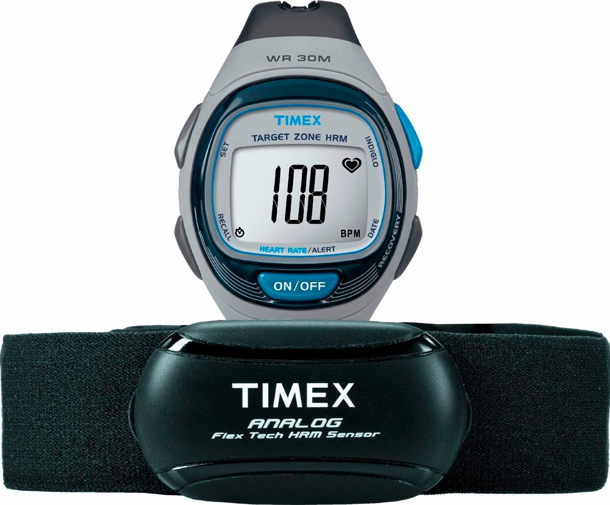 a398bd51fb89 reloj timex t5k738 pulsometro calorias indiglo cronometro. Cargando zoom.