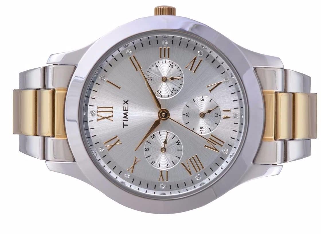 d5ec941aed79 Reloj Timex Tw000q808 Plata dor Dama Original Envío Gratis ...
